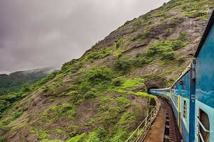 Mountain Travel By Train
