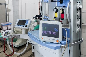 Equipment for resuscitation and anes