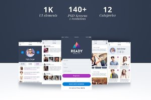 Ready Professional IOS Mobile UI Kit