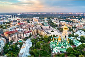View of Saint Sophia Cathedral in