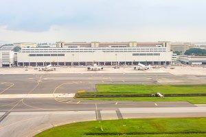 planes Changi international airport