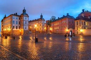 Birger Jarls torg in Stockholm