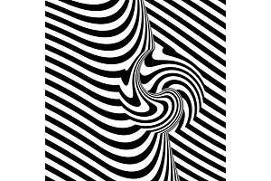 Abstract illustration Zebra print