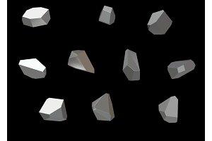 Crystal Stone gem macro mineral