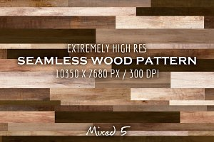 Extremely HR seamless wood pattern N