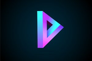 Modern Triangle Logo