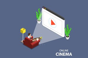 Online home theater