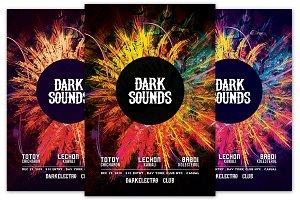 Dark Sounds Flyer