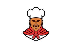 African American Baker Chef Cook Mas