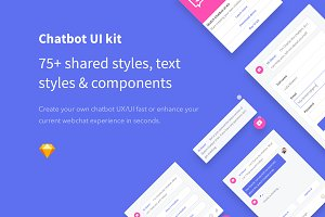 Sketch Chatbot UI Kit