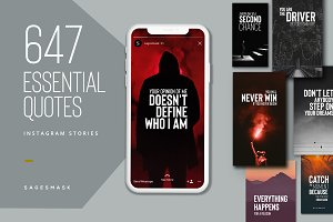 647 Essential Quotes Stories