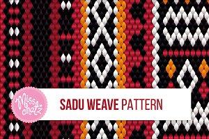 SADU Weave Pattern (Seamless)