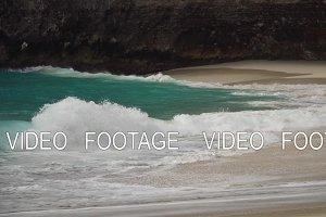 Beautiful beach on a tropical island