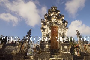 Hindu temple on the island of Nusa