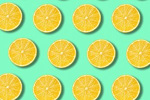 Lemon slices pattern
