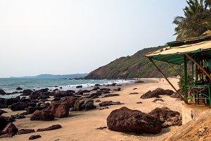 Bungalow on beach