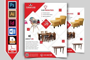 Furniture Shop Flyer Template Vol-03