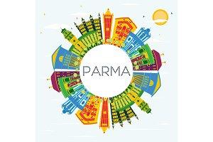 Parma Italy City Skyline