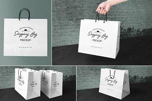 Shopping Bag Mockups