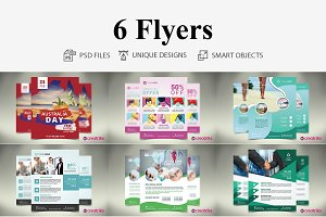 6 MultiPurpose Flyers