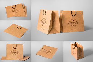 Appealing Shopping Bag Mockups