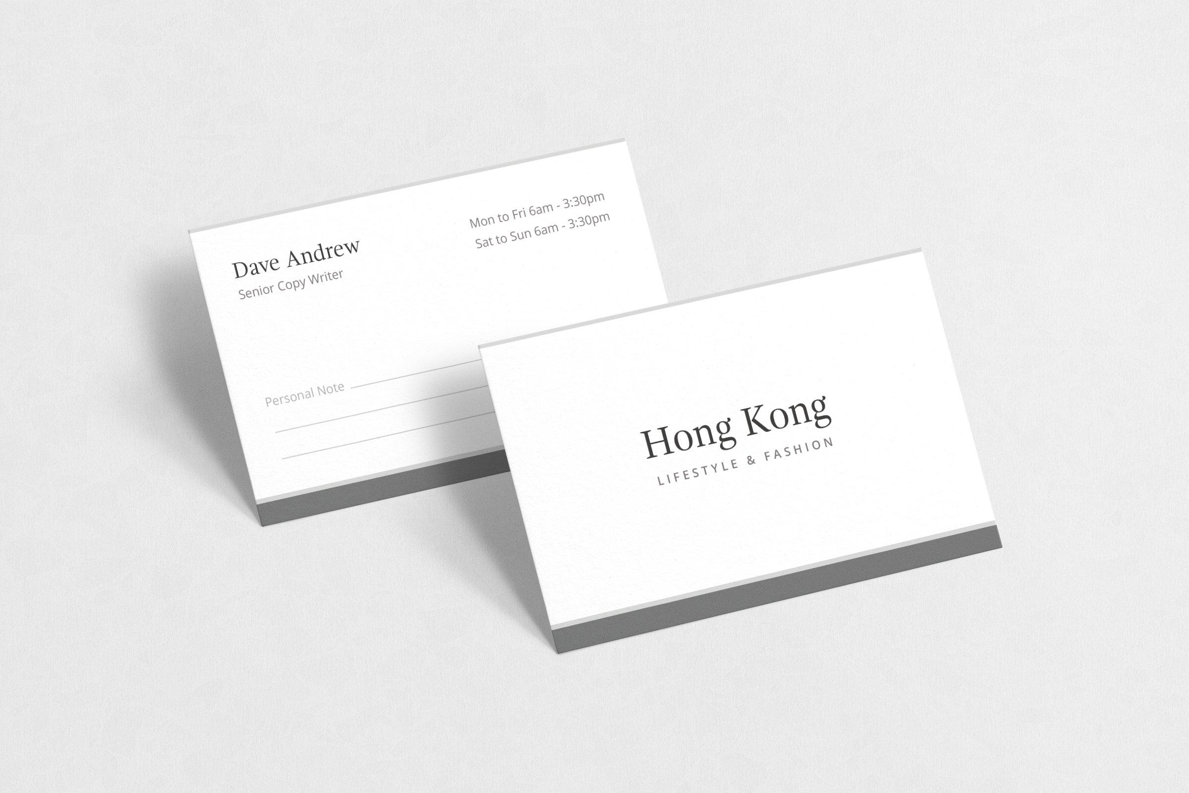 Hong kong business card business card templates creative market pro next reheart Gallery
