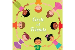 Friendship children of the world