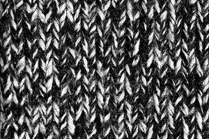 Black & White Heather Texture