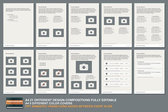 Ppt brand guidelines template presentation templates creative market toneelgroepblik Gallery