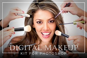 Digital Makeup Kit for Photoshop