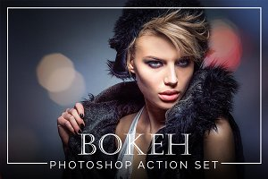 Bokeh Photoshop Action Set