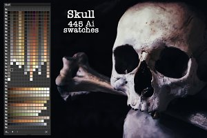 Skull Ai Swatches