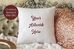 Cushion Cover Mockup