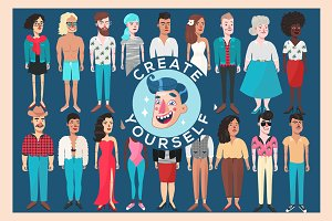 CREATE YOURSELF - portrait creator