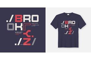 Brooklyn New York t-shirt design