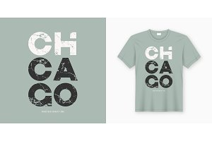 Chicago t-shirt design