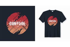 Out of control abstract design