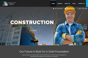 ConstructionXpert - WordPress Theme