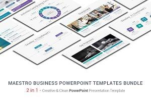 Maestro Business PowerPoint Bundle