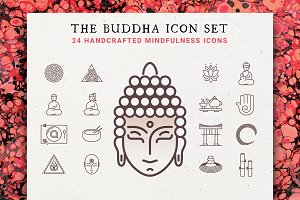 The Buddha 24 Icon Mindfulness Set