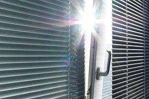 Sun through the window