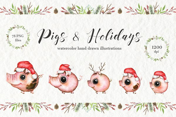 Pigs & Holiday