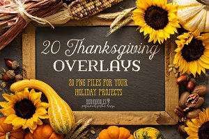 Thanksgiving Overlays