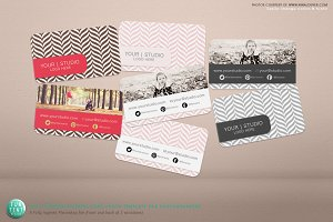 Chic Photography Business Card