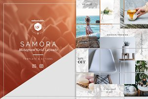 Samora Instagram Posts Layout