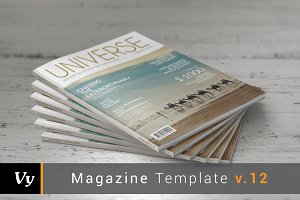 Universe Magazine Template