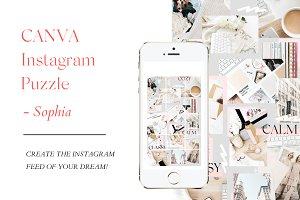 CANVA Instagram Puzzle - SOPHIA