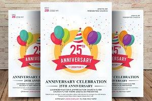 25 Anniversary Flyer