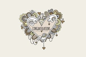 Congratulations Heart Clipart