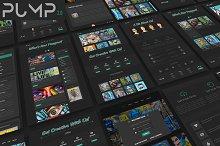 Pump 2.0 - Creative Portfolio/Blog